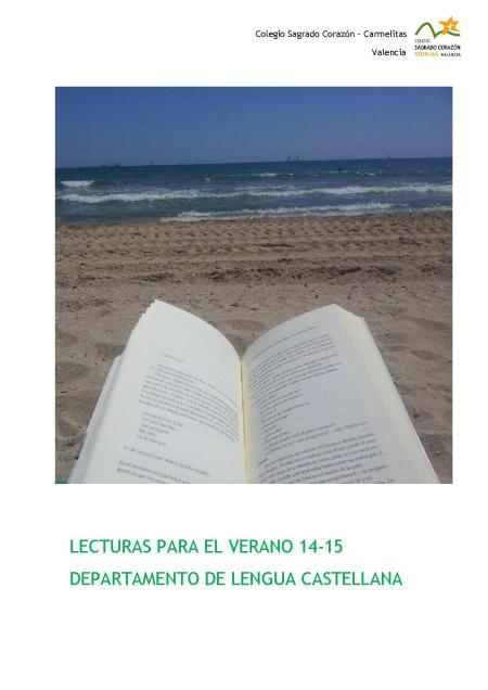 Lecturas verano 14-15.
